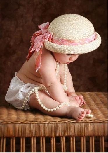 une jolie poupée !