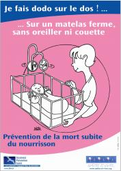 Affiche prevention aps a3 rose